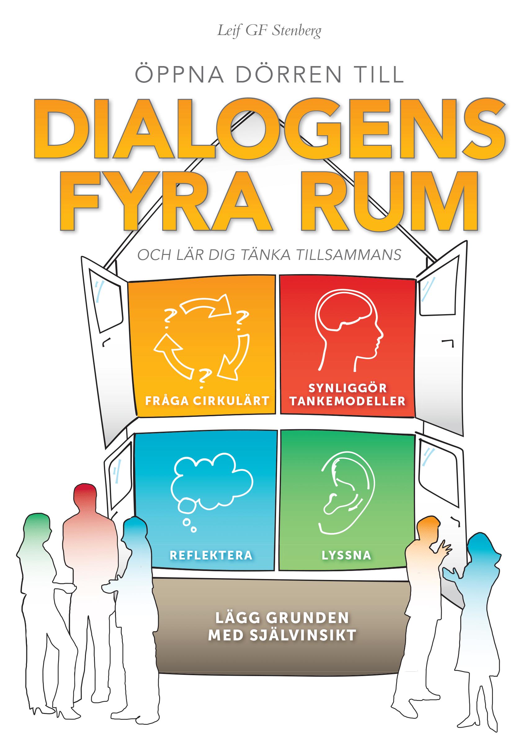 Boken Dialogens Fyra Rum Leif Stenberg